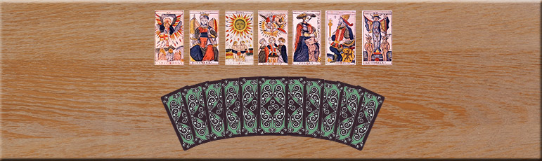 seven card tarot reading