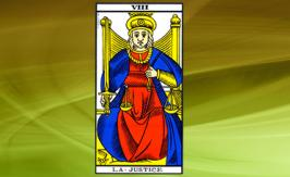 The Justice Tarot card: positive or negative?