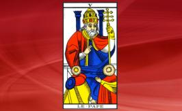 The Pope Tarot card: positive or negative?