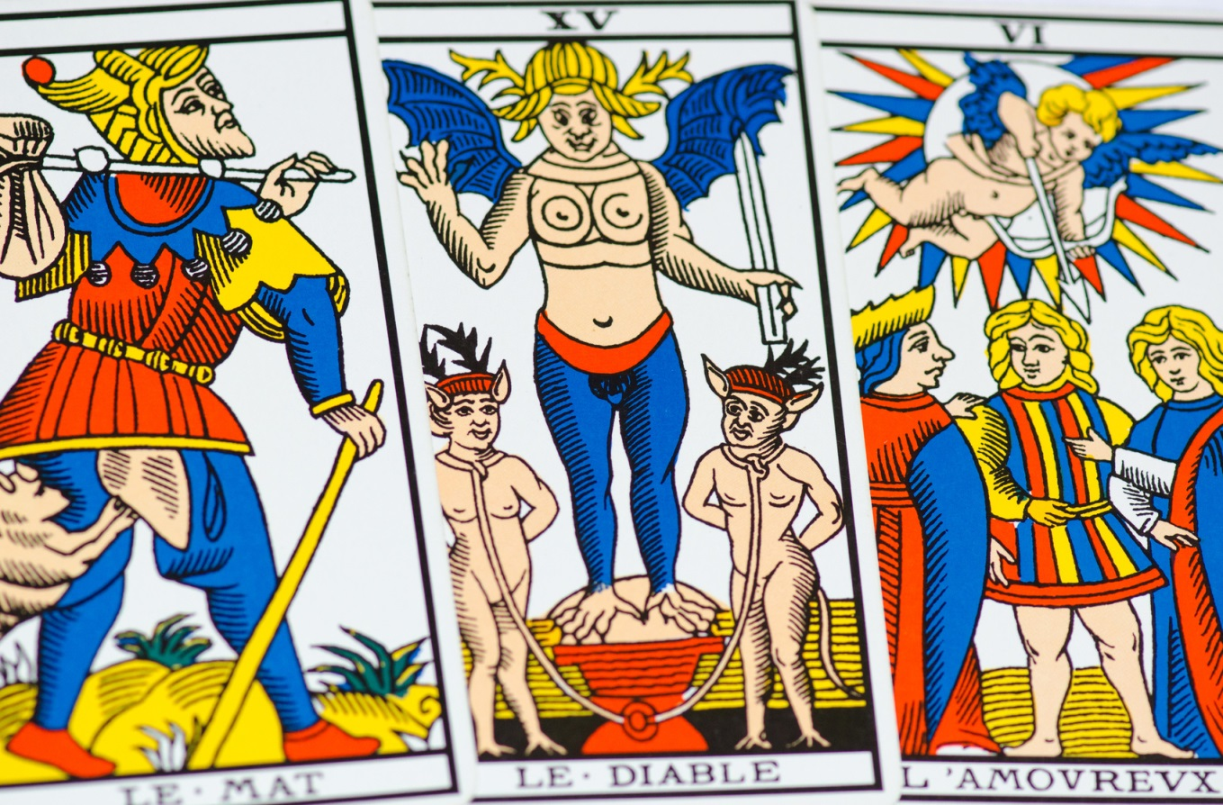 The Pope - The tarot of Marseille