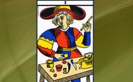 The Mountebank Tarot card: positive or negative?